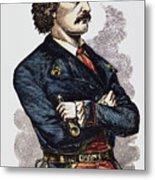 Jean Lafitte (c1780-c1826) Metal Print