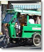 Jeepney 03 Metal Print