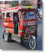 Jeepney 05 Metal Print