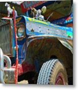 Jeepney Metal Print