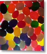 Jellybeans Metal Print by Anna Villarreal Garbis