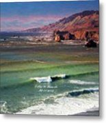 Jenner By The Sea Metal Print