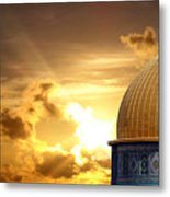 Jerusalem - The Morning Light Metal Print