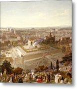 Jerusalem In Her Grandeur Metal Print
