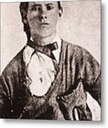 Jesse James (1847-1882) Metal Print