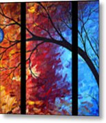 Jewel Tone II By Madart Metal Print