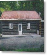 Jims Cabin Metal Print