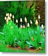 Joe's Tulips Metal Print