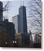 John Hancock Center II Metal Print