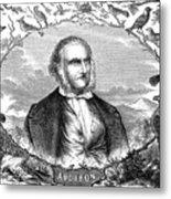 John James Audubon Metal Print
