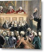 John Peter Zenger Trial Metal Print by Granger