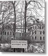 John Quincy Adams House Ll Metal Print