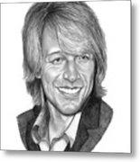 Jon Bon Jovi Metal Print