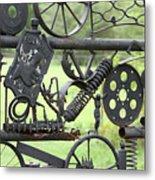 Junk Art Metal Print by Marilyn West
