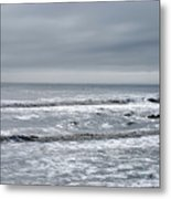 Just A Grey Day Metal Print