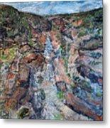 Kalbarri Gorge Metal Print