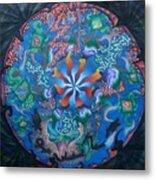 Kaleidoscope Eyes Metal Print