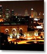 Kansas City Lights Metal Print