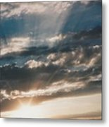 Kansas Evening Metal Print