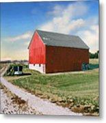 Kansas Landscape II Metal Print