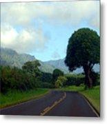 Kauai Road Metal Print