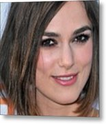 Keira Knightley At Arrivals For A Metal Print by Everett