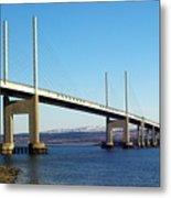 Kessock Bridge Inverness 2 Metal Print