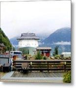 Ketchikan Alaska  Metal Print by Mindy Newman