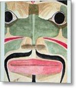 Ketchikan Native Metal Print