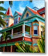 Key West Southern Most Hotel Metal Print by Bill Cannon