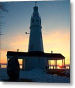 Kimberly Pointe Lighthouse Metal Print