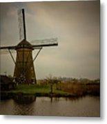 Kinderjik Windmill Metal Print