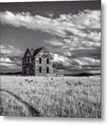 King Homestead_bw-1601 Metal Print