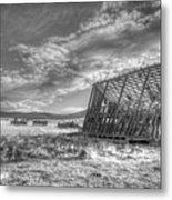 King Homestead_bw-1603 Metal Print