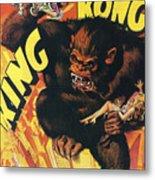 King Kong Metal Print by Georgia Fowler