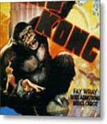 King Kong Poster, 1933 Metal Print by Granger