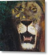 King Of The Mane Metal Print