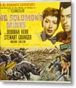 King Solomons Mines, Deborah Kerr Metal Print by Everett