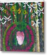 Kings Flowers Metal Print