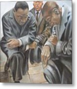 Kings Prayer At Selma Metal Print