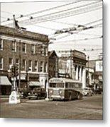 Kingston Corners Kingston Pa Early 1950s Metal Print
