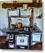 Kitchen - The Vintage Stove Metal Print