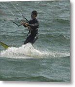 Kite Surfing 11 Metal Print