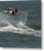Kite Surfing 22 Metal Print