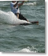 Kite Surfing 3 Metal Print