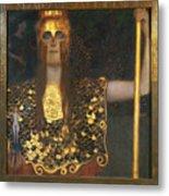 Klimt - Pallas Athena 1898 Metal Print