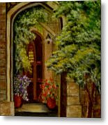 Knight's Door Metal Print
