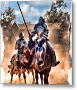 Knights Of Yore Metal Print