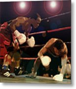 Knockdown Metal Print