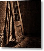 Knockin' At The Wrong Door Metal Print